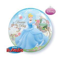 Big Bubbles, Bubble Balloons, Dream Big, Party Themes, Cinderella, Disney, Disney Art