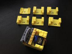 Lego 9g Servo Mount by nokemono42.