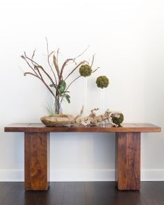 Zenporium Teak Sculpture and Planter | #Sustainable Home #Decor | Rocky River Green Home #RRGH Organic Spa Magazine