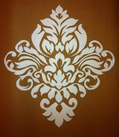 Damask. Painted  by myself.