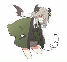 HANTEN OKEGOM Cute Art Styles, Cartoon Art Styles, Anime Drawings Sketches, Cute Drawings, Kawaii Anime Girl, Anime Art Girl, Cute Anime Character, Character Art, Art Manga