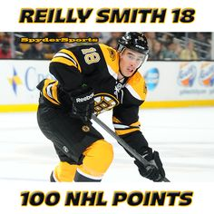 Reilly Smith Reaches 100 NHL Points | Spyder Sports Lounge