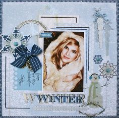 Layout created using items from the Winterings collection.