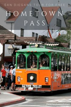 The Hometown Pass lets San Diego residents ride the Old Town Trolley and San Diego SEAL Tours for free with a paid adult. Old Town San Diego, San Diego Zoo, California Vacation, California Dreamin', Family Vacation Destinations, Vacation Trips, Fun Activities To Do, Beach Fun, Seal