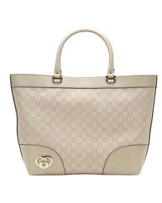 Gucci lovely large tote off-white