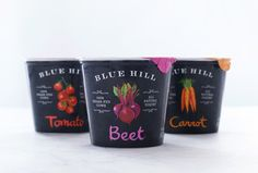 Blue Hill Yogurt by Apartment One, via Behance