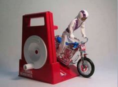 Retro Evil Knievel, I had one of these when I was a kid.