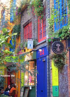 Neal's Yard @ London, England.