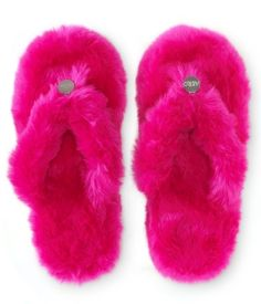 my Solid Fuzzy Dorm Slippers from parents Cute Slippers, Fuzzy Slippers, Flip Flop Slippers, Fancy Shoes, Pretty Shoes, Aeropostale Outfits, Cute Pajamas, Pink Outfits, Guys And Girls