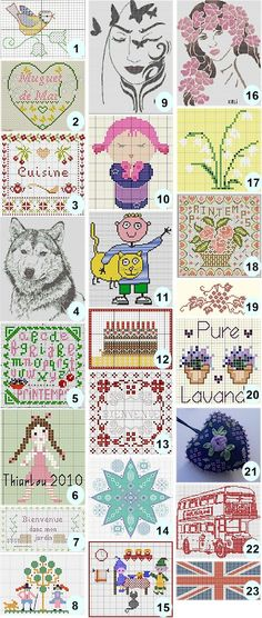 More free cross-stitch charts