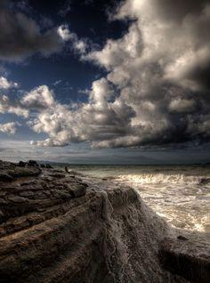 Lagos Beach. Corfu Island, Greece, by Xristoforos