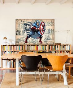 Look at this #zulilyfind! Captain America Comic Panel Gallery-Wrapped Canvas by Captain America #zulilyfinds