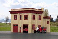 Model Train building - Firehall