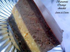 bavarois orange/chocolat pour les 9 ans de Lyna
