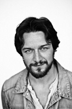 James McAvoy:  Boring a hole into your soul with those eyes.