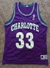 For Sale - Alonzo Mourning Charlotte Hornets NBA Champion Jersey 44/L - See More At http://sprtz.us/HornetsEBay