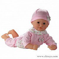 Corolle Calin Charming Sweet Pink - Corolle's Calin dolls are the perfect first baby doll.  Calin Charming Sweet Pink definitely falls into that category.  Just look at her sweet face!