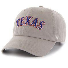 Men's Texas Rangers '47 Gray Clean Up Road Adjustable Hat