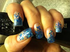 Better pic of neon tips nail art design Nails-go-round in ...