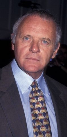 Anthony Hopkins attends 33rd Annual Publicists Guild of America Awards on March 22, 1996.