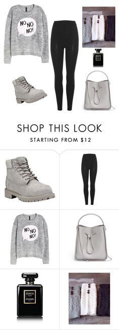 """❄️❄️❄️"" by alyssawarner ❤ liked on Polyvore featuring Timberland, adidas Originals, 3.1 Phillip Lim and Chanel"