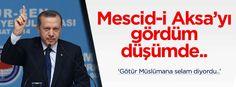 """Mirac Kandili'ne ithafen Cumhurbaşkanı Recep Tayyip Erdoğan'ın sesinden M. Akif İnan'ın """"Mescid-i Aksa'yı gördüm düşümde"""" şiirini istifadelerinize sunuyoruz..."""
