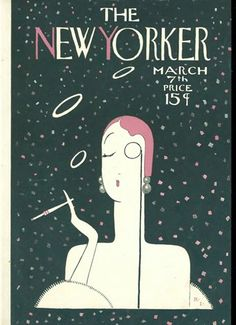 The New Yorker, March 1925.  this might be one of the first few issues ... Eustace Tilly first issue was Feb 1925, I believe.