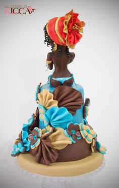 art afro2 Cupcakes, Cupcake Cakes, African Cake, Fashionista Cake, Diva Cakes, Baby Girl Cakes, Adult Birthday Cakes, Sculpted Cakes, Summer Cakes
