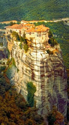 Meteora Monastery in Greece | See More Pics: