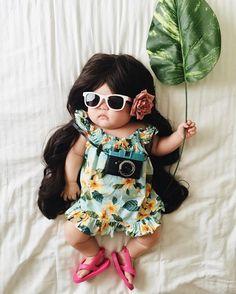 4-месячная девочка стала звездой интернета, даже не просыпаясь | Приколисты в картинках
