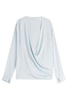 Vionnet Draped Silk Blouse Gr. IT 38 | STYLEBOP saved by #ShoppingIS