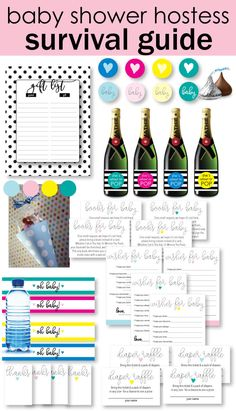 Yellow Shes About To Pop Mini Champagne Baby Shower Favor Labels - Mini water bottle label template