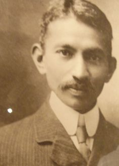 Mahatma Ghandi as a young lawyer in South Africa. In his early years he fought the indentured servitude of Indians sent to essentially be slaves all over the British empire. https://www.youtube.com/watch?feature=player_embedded=tL-vtEyGDLI