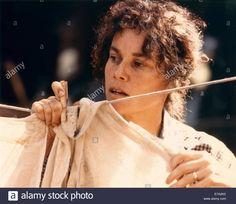 "Barbara Hershey, Close-up, On-set Of The Film, ""shy People"", 1987 Stock Photo, Royalty Free Image: 73365697 - Alamy"
