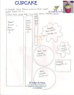 El Taller de Nana:  Cupcake en Foami