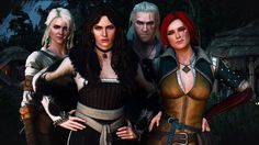 I'm a big fan of Witcher games and books. My favorite character is Triss Merigold, but I'm a sucker...
