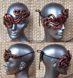 #Octopus #eyepatch made for a #steampunk #pirate