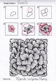 Resultado de imagen de zentangle patterns for beginners step by step
