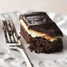 If you like mint and chocolate, you'll love our Creme de Menthe Brownies.