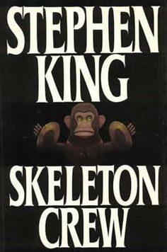 Skeleton Crew by Stephen King, I have had this book so long that I don't even remember putting the big patch of scotch tape along the spine to hold it together but my Scariest/Favorite is The Mist, to this day it is hard to drive in Fog!