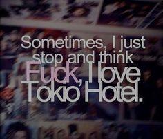 Immagine di tokio hotel, love, and quote