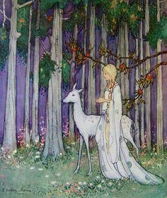 White Butterfly Fairy Tales Ethel Jackson Morris 1921 | eBay