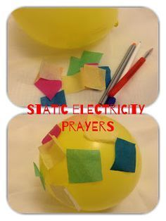 Flame: Creative Children's Ministry: Static Electricity Prayers