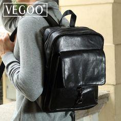 VEGOO korea style Hot sale waterproof backpack luxury men backpacks designer  high quality men bag 2171c74ab3db3