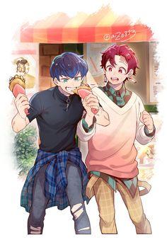 kimetsu no yaiba Anime Meme, Otaku Anime, Anime Art, Cute Anime Character, Character Art, Slayer Meme, Japon Illustration, Demon Hunter, Dragon Slayer