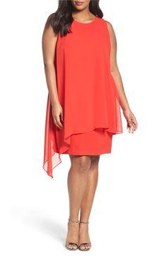 Main Image - Tahari Sheath Dress (Plus Size)