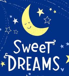 Sweet Dreams Wall Art Print by elissahudson on Etsy