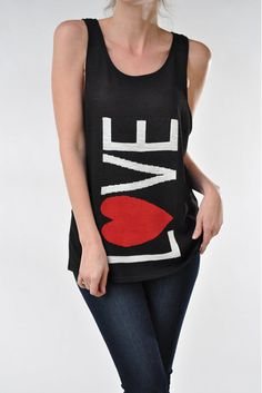 Sadie Jane Dancewear - LOVE Tank with Mesh Back, $25.00 (http://www.sadiejane.com/love-tank-with-mesh-back/)