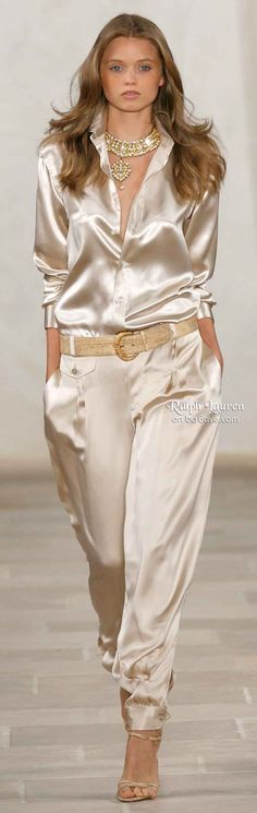 Ralph Lauren Sateen Jumpsuit #UNIQUE_WOMENS_FASHION http://stores.ebay.com/VibeUrbanClothing