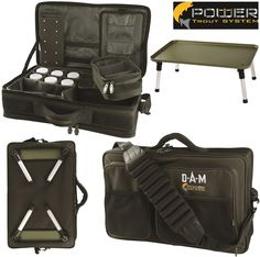 DAM PTS - Put & Take Buddy - 52 x 32 x 20 cm, ca. 3,7 kg, sac rigide pour pêcheurs de truites